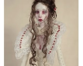 "a unique  Art Doll  ""Snow White """