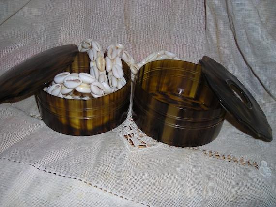 Tortoise shell Vanity set