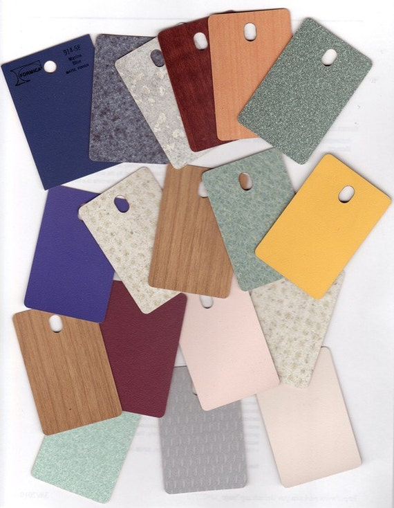 Formica - Laminate Sample Chips Lot 1 - Collage - Crafting - Mixed Media - ATC's - Jewelry - Scrapbooks - FREE SHIPPING