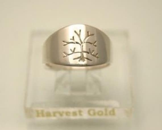 Tree of Life, Women's Ring in Sterling Silver, Handmade in Maine