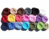 Cheesecloth Wraps - HIGH QUALITY - GRADE 50 Cheesecloth - Choose any 10 Colors - Photography Prop for Newborns or Maternity