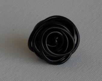 Rose Ring- Black
