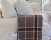 Heather Woollen Blanket