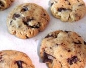 24 Dark Chocolate Chunk Pecan Cookies