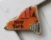 New York Vintage Puzzle Pin