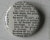 Best Man Vintage Dictionary Pin