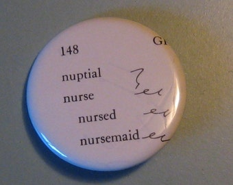 Nurse Shorthand Dictionary Pin