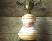 Antique Shabby Chic Victorian  Lamp