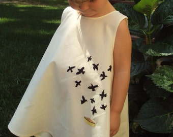 Black Bird in the Pie Dress Made to Order