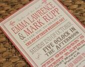 Digital Emma InvitationTemplates (colors of choice)-3 templates