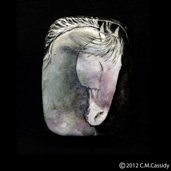 A Pale Sort of Horse in the Wind. Pin