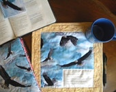 On Eagle's Wing Devotional Mug Rug