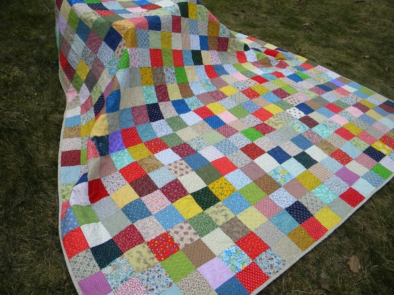 King Size Patchwork