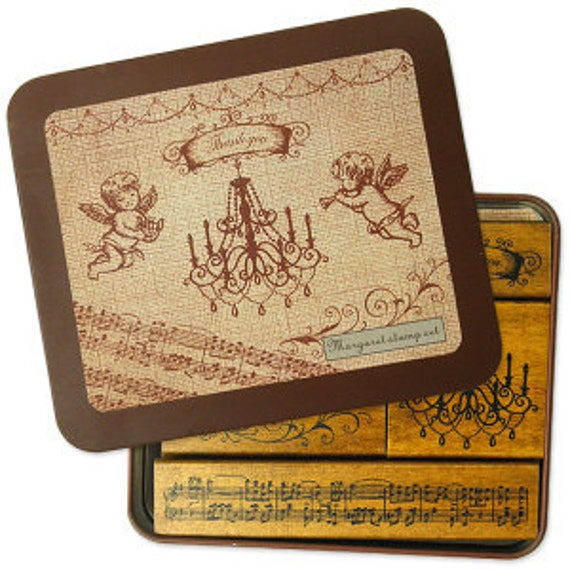 Wedding Invitation Rubber Stamps - Angel Stamps and more