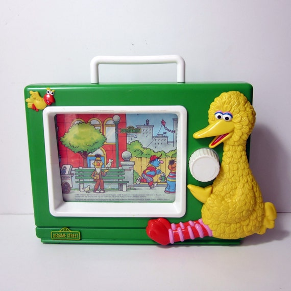 Sesame Street Musical Toys : Items similar to vintage sesame street musical tv toy on etsy