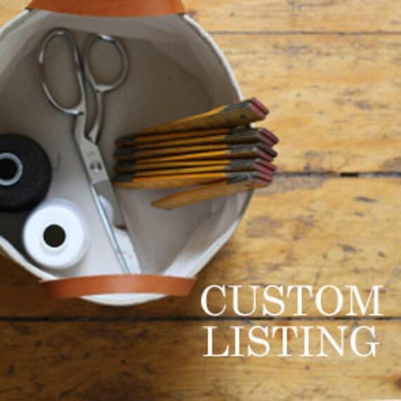 custom listing fo whitneyrobson