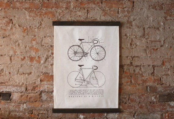 reserved for eedmondson - Anatomy of a Bicycle Poster