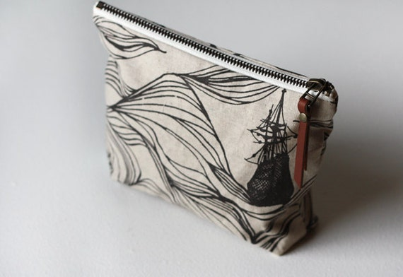 Large Zipper Pouch - Ships
