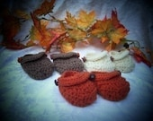 Mock Baby Sandal Booties PDF crochet pattern 287 instructional video included