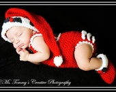 Santa Outfits for Boys and Girls Crochet Pattern  pdf 194 Great for Photo Props