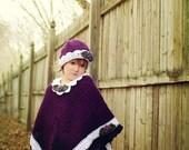 Pretty Princess Poncho Crochet Pattern  PDF144