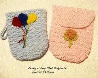 1Crochet IPAD cover or Crochet Diaper Clutch Crochet Pattern PDF 168