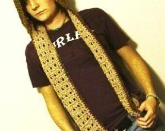 Scoodie Crochet Pattern 248 PDF scarf hoodie