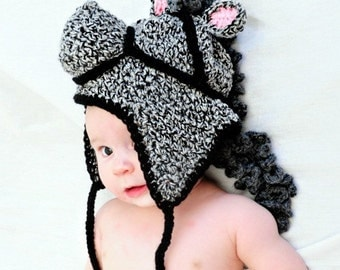 Horse Crochet Pattern 343 PDF Infant to Adult Sizes to make