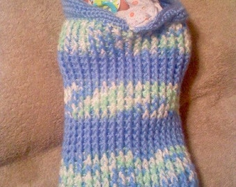 Baby Ribbed Cocoon Crochet Pattern PDF 581