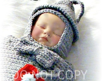 Tinman Cocoon and Hat Crochet Pattern pdf589