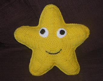 Starfish Pillow Crochet Pattern PDF 190