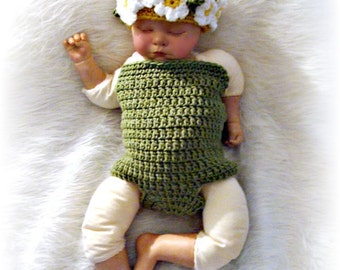 Daisy Beanie and Body Suit Crochet Pattern PDF 612