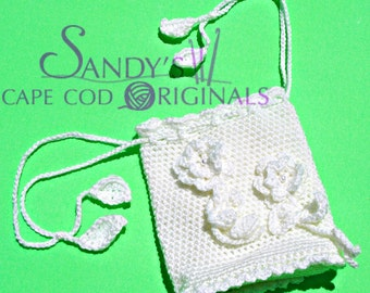 Wedding Purse Crochet Pattern PDF 679