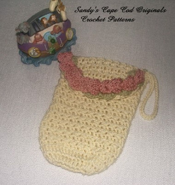 Pretty in Pink Diaper Clutch Crochet Pattern Instructional Video Included pdf 172