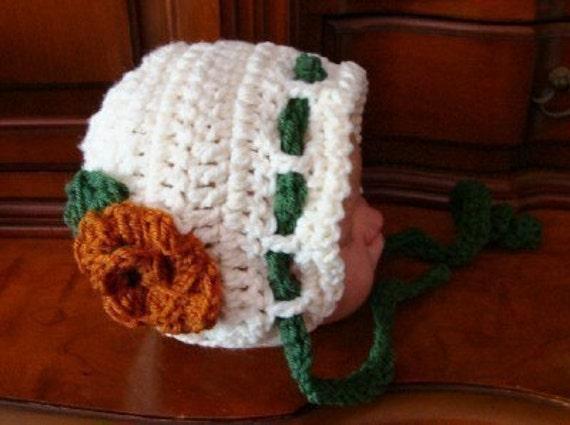 Chunky Baby Hat to Crochet Pattern pdf 439