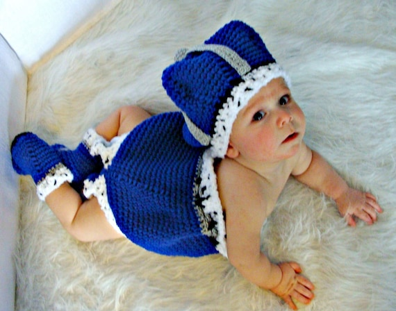 Little Prince Hat,Booties and Diaper Cover crochet pattern pdf 537