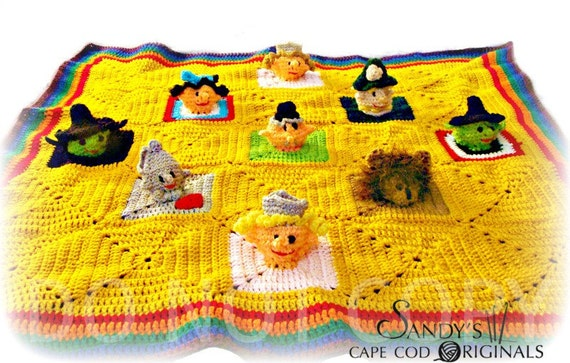 3D Childs Activity Afghan Crochet Pattern PDF 590