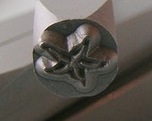 Metal Steel Stamps STARFISH 6mm x 5mm Design Stamp Jewelry Stamping - The Urban Beader