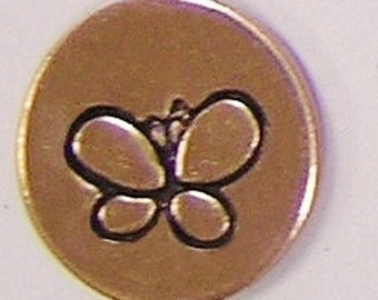 Metal Steel Stamps BUTTERFLY Design Stamp Jewelry Stamping - The Urban Beader