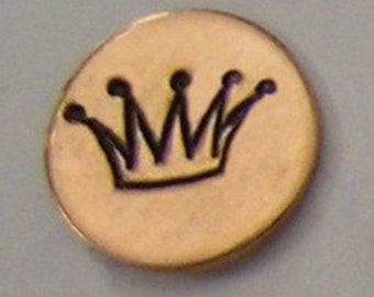 Metal Steel Stamps CROWN Design Stamp Jewelry Stamping - The Urban Beader