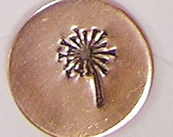 Metal Steel Stamps DANDELION 5mm Design Stamp Jewelry Stamping - The Urban Beader
