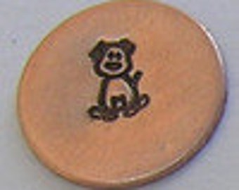 Metal Steel Stamps Stick Figure Dog Design/Decorative Stamp for Metal Jewelry Stamping The Urban Beader