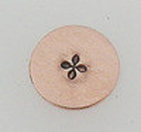 Metal Steel Design Stamps CROSS STAR Decorative Stamp for Metal Jewelry Stamping The Urban Beader