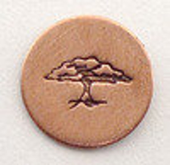 Metal Steel Stamps TREE OF LIFE Design Stamp Jewelry Stamping - The Urban Beader
