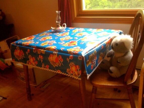 Custom Oilcloth Table Cover