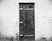 Seasoned Wooden Door - Fine Art Print - (8 x 10) - mk111333