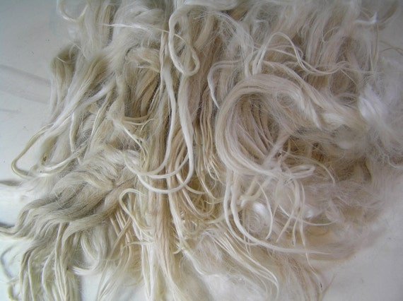 "Suri Locks, White 6"", Unwashed, Doll Hair, Artie"
