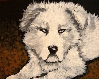 Dillon - ACEO print of acrylic painting