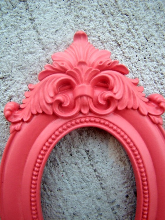 Coral Sunrise Ornate 2X3 Vintage Style Picture Frame
