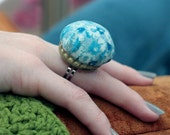 SALE Bottle Cap Pin Cushion Ring